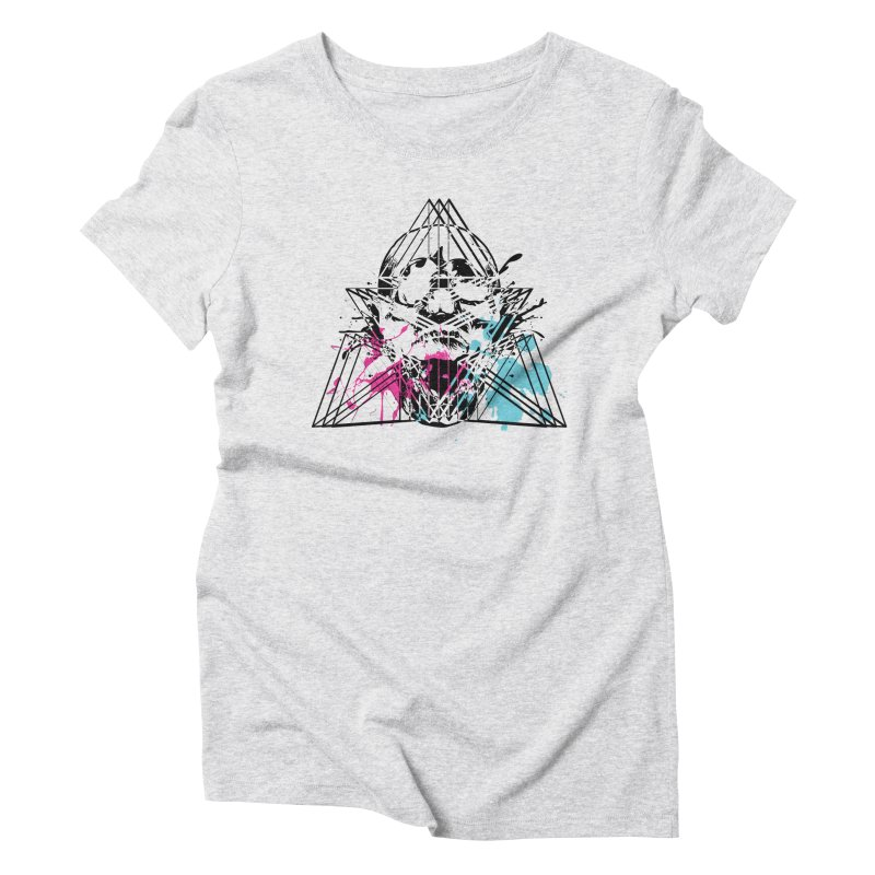 Geometry of the Damned (II) Women's T-Shirt by Lava Bat's Artist Shop