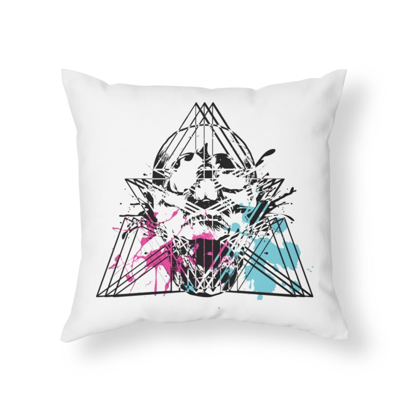 Geometry of the Damned (II) Home Throw Pillow by Lava Bat's Artist Shop
