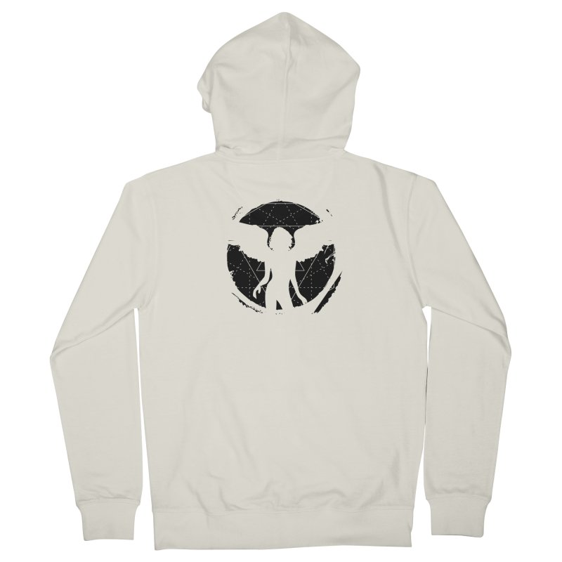 Star Queen (II) Men's Zip-Up Hoody by Lava Bat's Artist Shop