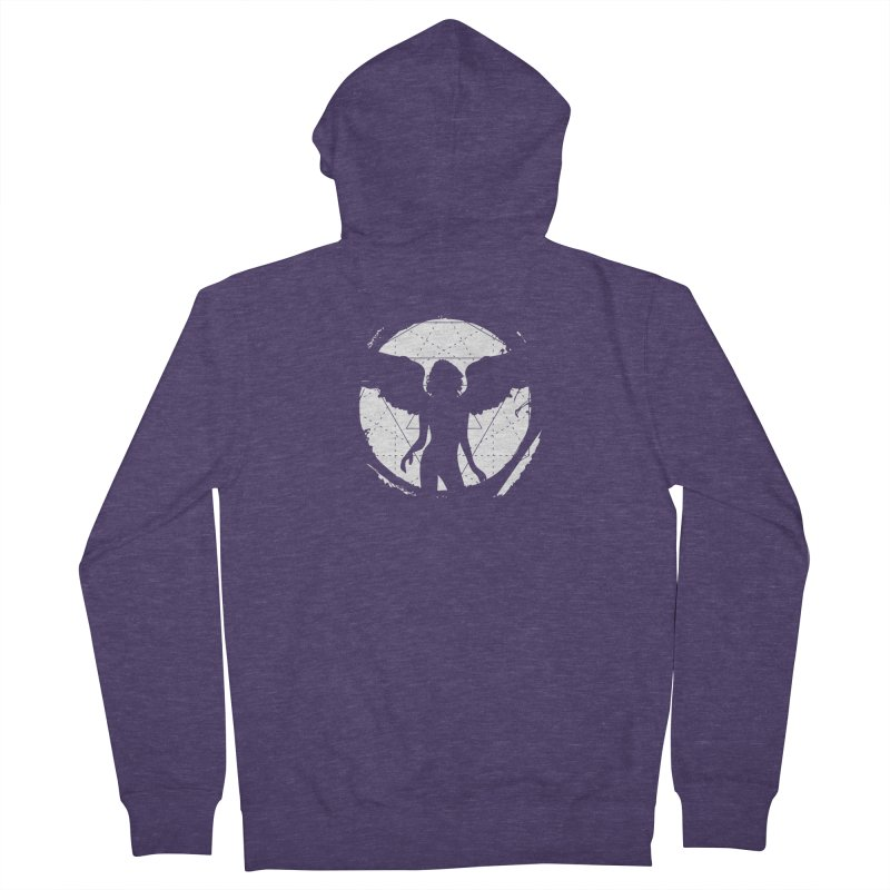Star Queen (I) Men's Zip-Up Hoody by Lava Bat's Artist Shop
