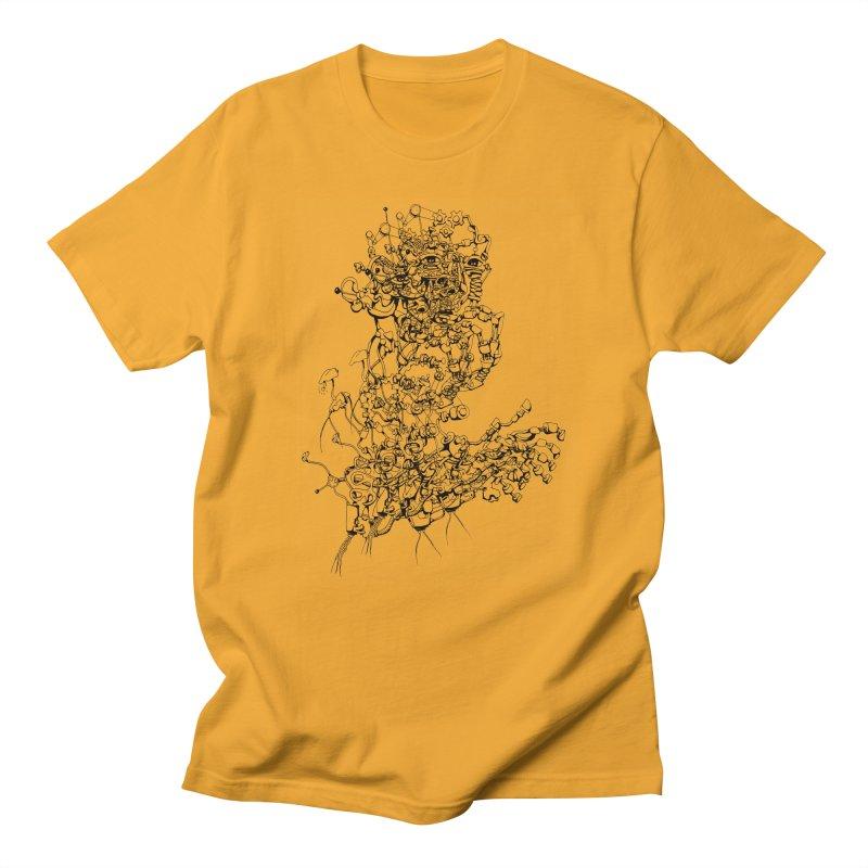 scan_T_blacknails Men's T-Shirt by lavatrice's Artist Shop
