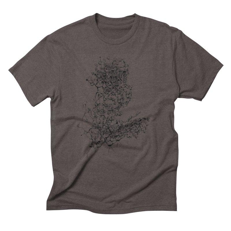 scan_T_blacknails Men's Triblend T-shirt by lavatrice's Artist Shop