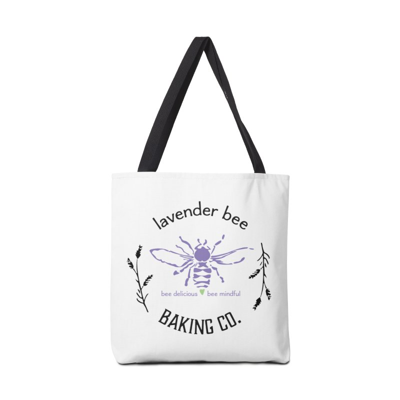 Lavender Bee Accessories Tote Bag Bag by lavenderbee's Artist Shop