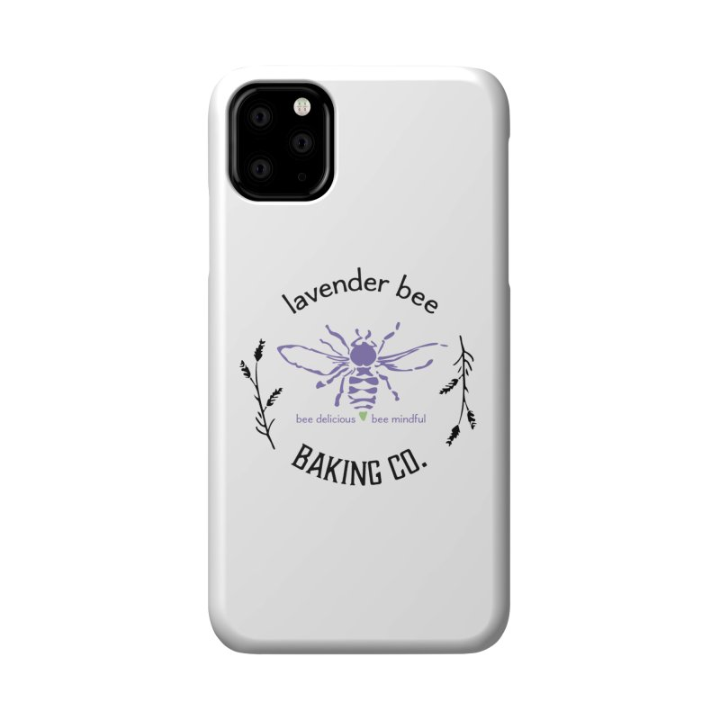 Lavender Bee Accessories Phone Case by lavenderbee's Artist Shop