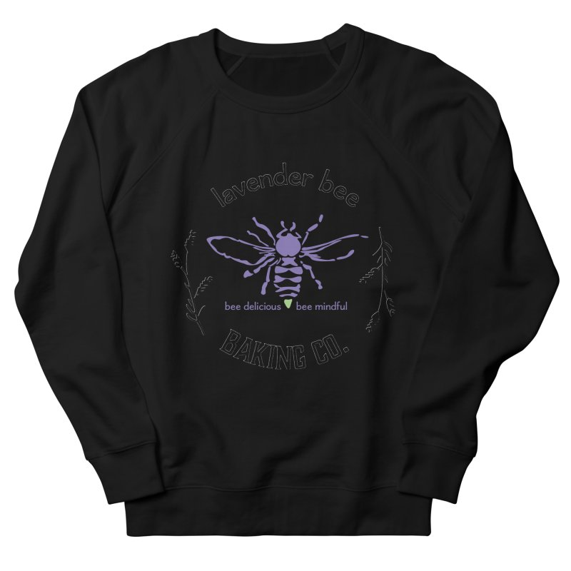 Lavender Bee Men's French Terry Sweatshirt by lavenderbee's Artist Shop
