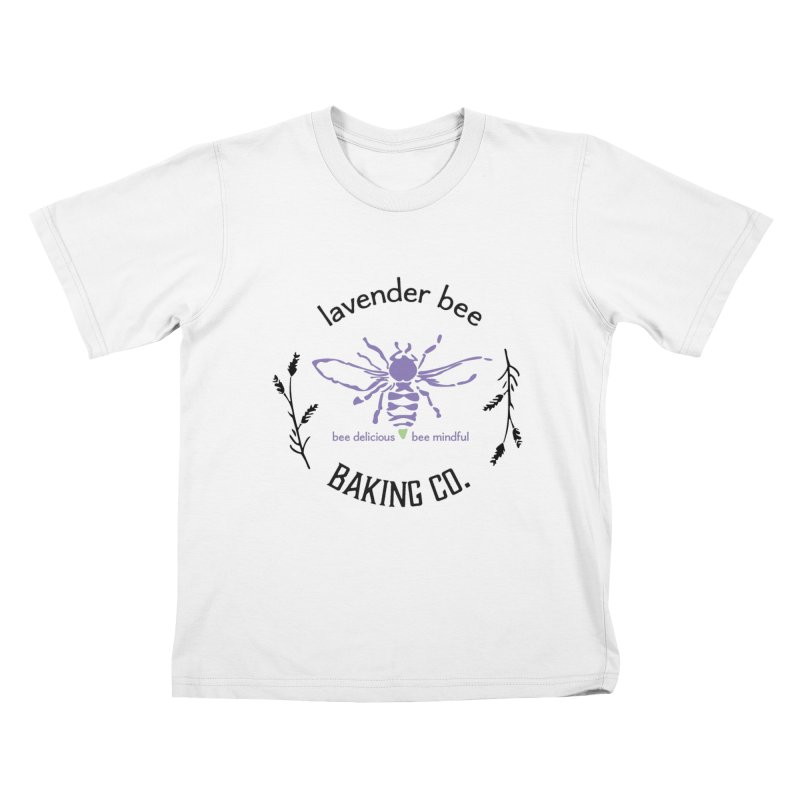 Lavender Bee Kids T-Shirt by lavenderbee's Artist Shop