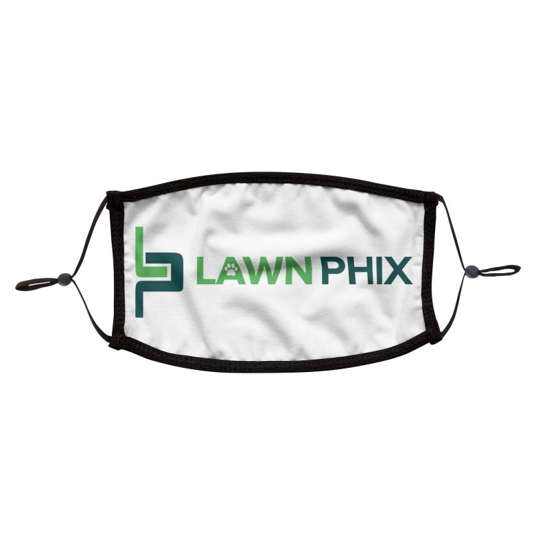 Lawn Phix Logo Accessories Face Mask by lawnphix's Artist Shop