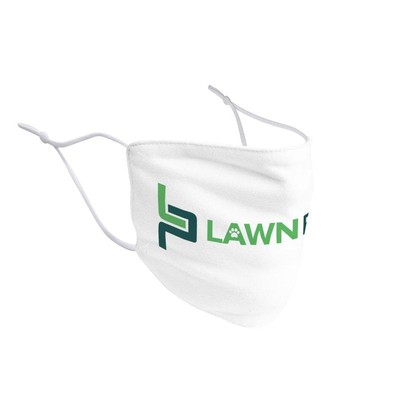 Lawn Phix Logo Accessories Face Mask by lawnphix's Artist Shop