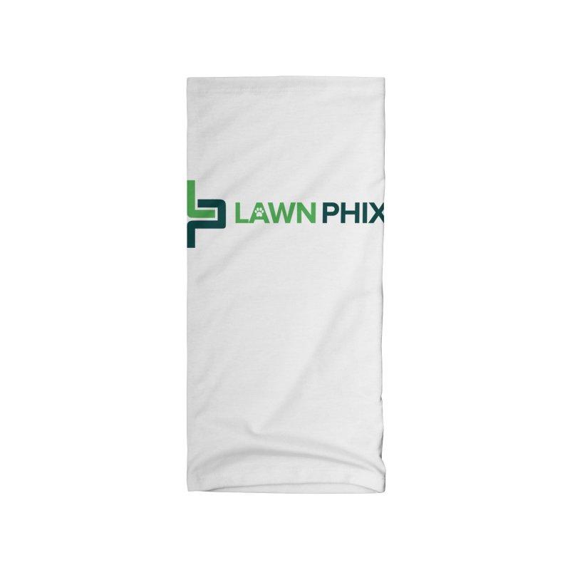 Lawn Phix Logo Accessories Neck Gaiter by lawnphix's Artist Shop
