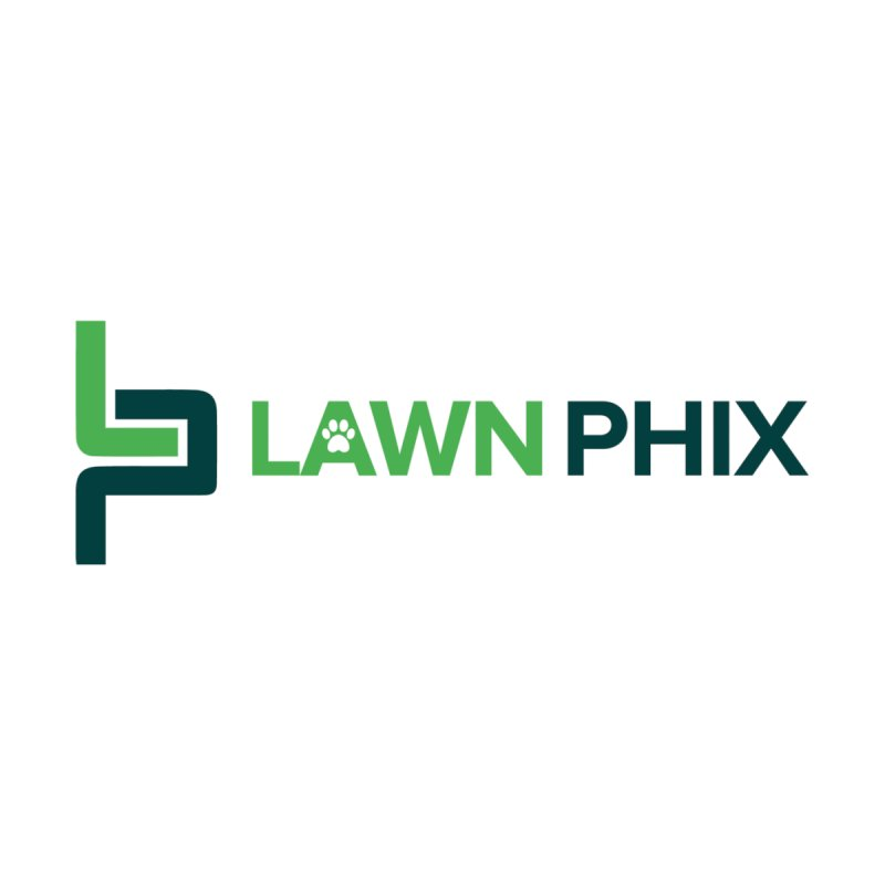 Lawn Phix Logo Men's V-Neck by lawnphix's Artist Shop