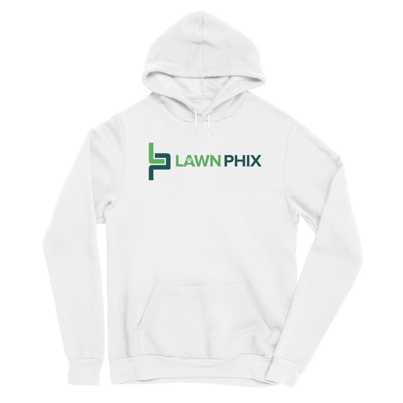 Lawn Phix Logo Men's Pullover Hoody by lawnphix's Artist Shop