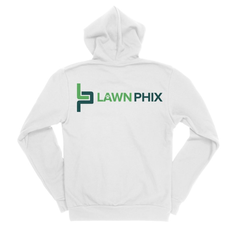 Lawn Phix Logo Women's Zip-Up Hoody by lawnphix's Artist Shop