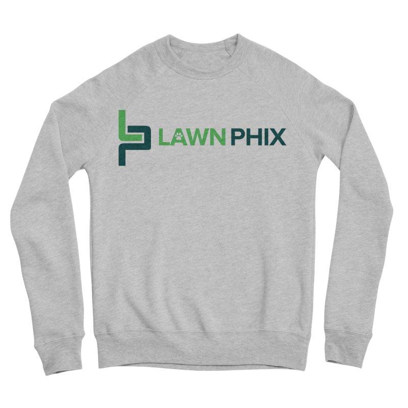 Lawn Phix Logo Men's Sweatshirt by lawnphix's Artist Shop