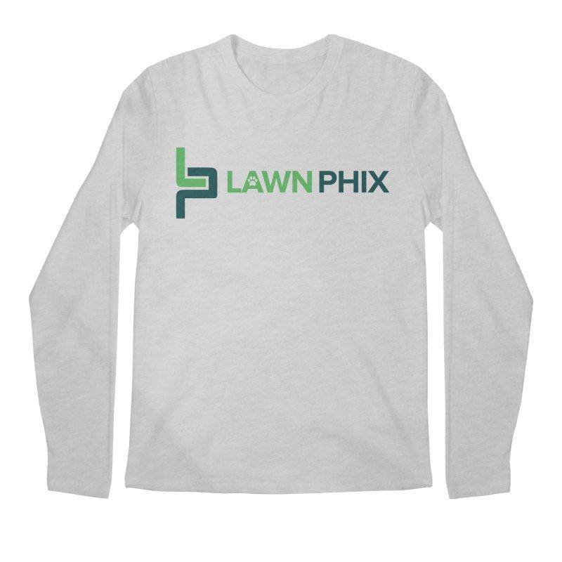 Lawn Phix Logo Men's Longsleeve T-Shirt by lawnphix's Artist Shop