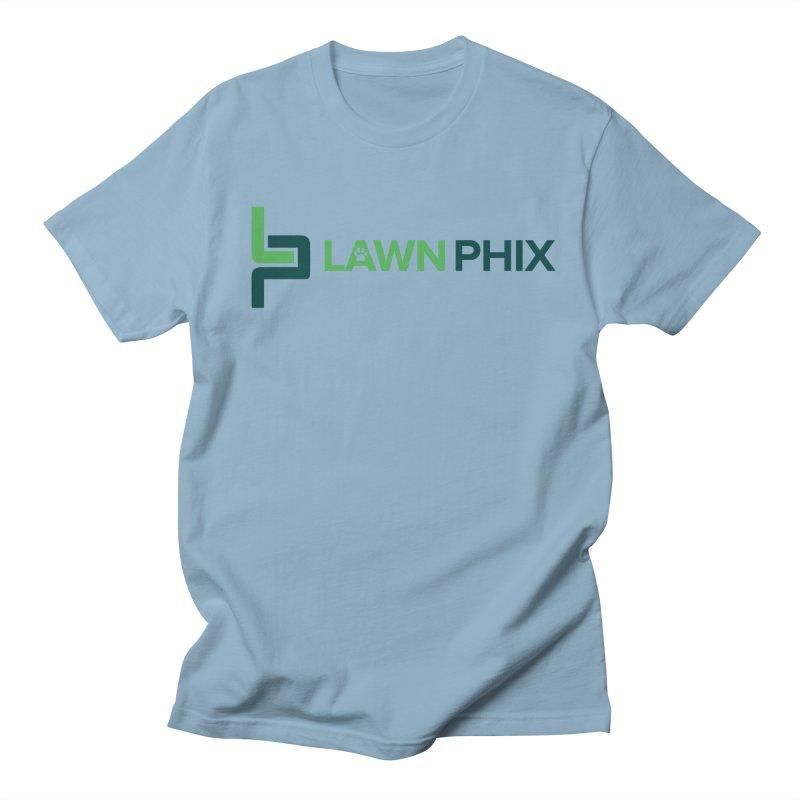 Lawn Phix Logo Men's T-Shirt by lawnphix's Artist Shop