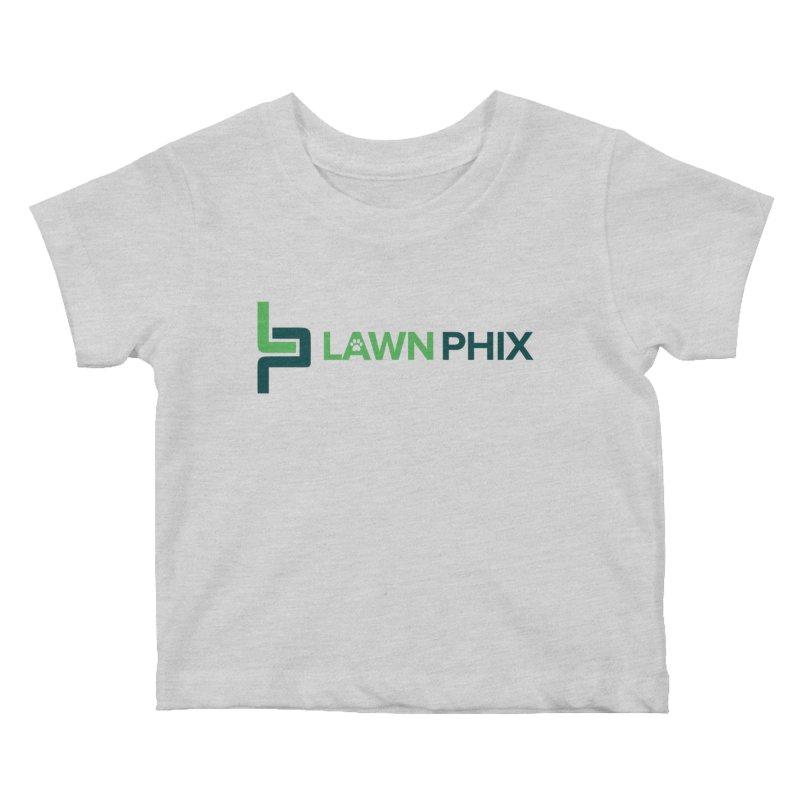 Lawn Phix Logo Kids Baby T-Shirt by lawnphix's Artist Shop