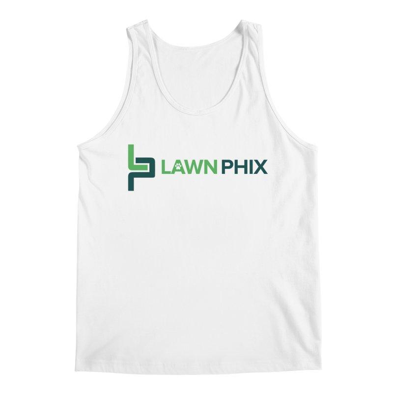 Lawn Phix Logo Men's Tank by lawnphix's Artist Shop