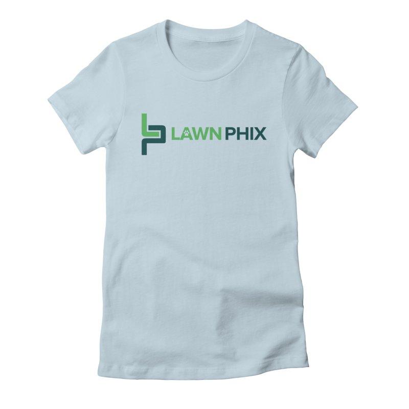 Lawn Phix Logo Women's T-Shirt by lawnphix's Artist Shop