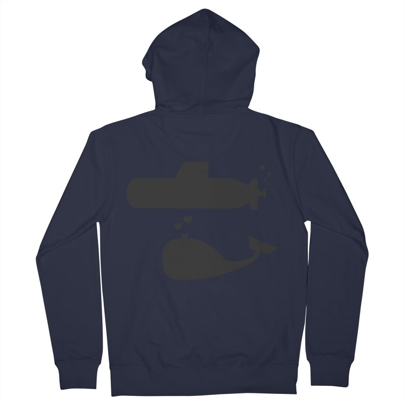 oh whale, sea you later Women's Zip-Up Hoody by Lawrence's Shop