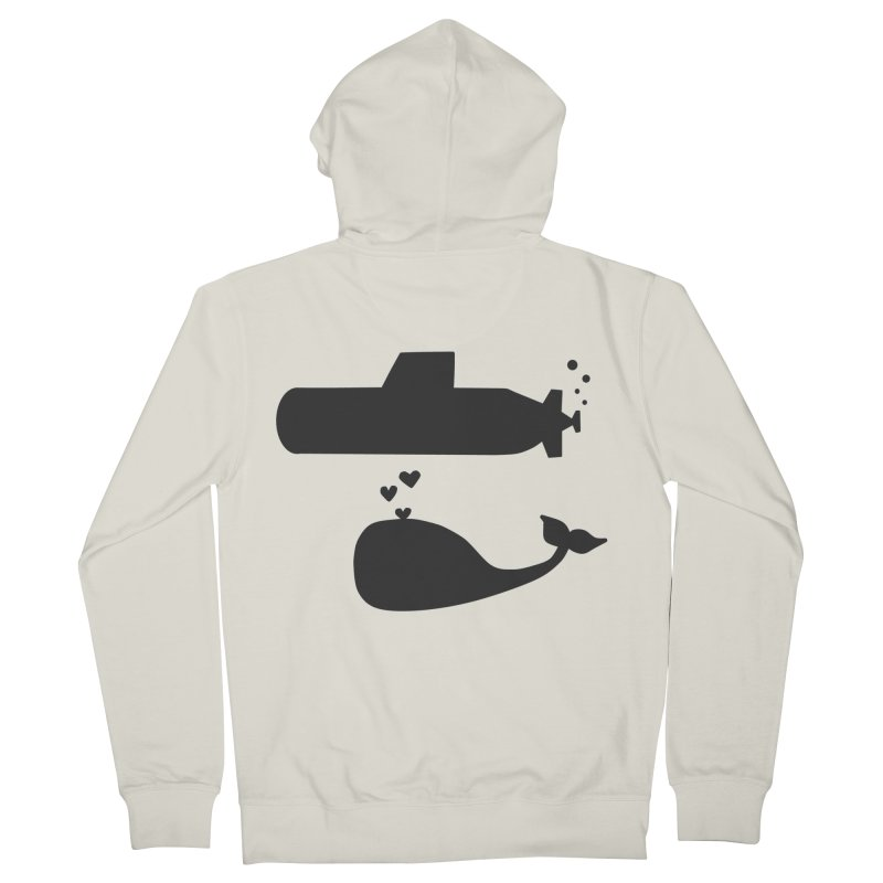 oh whale, sea you later Men's Zip-Up Hoody by Lawrence's Shop