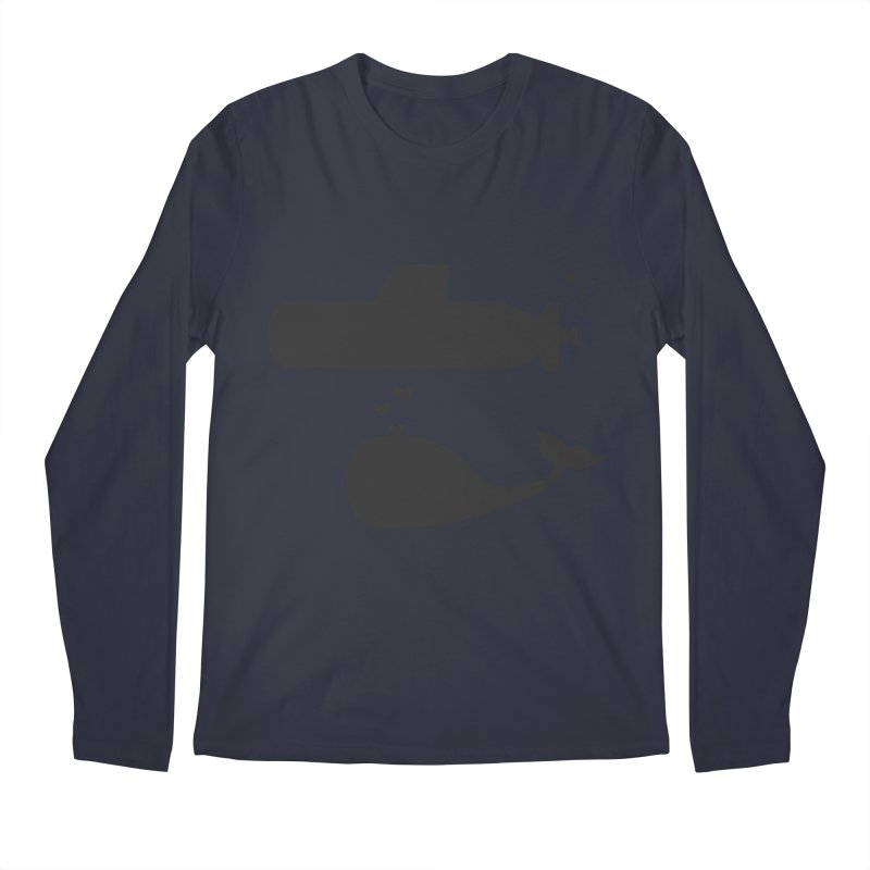 oh whale, sea you later Men's Longsleeve T-Shirt by Lawrence's Shop