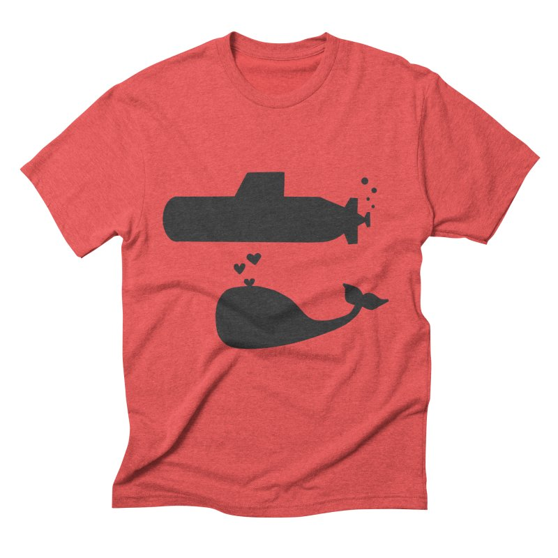 oh whale, sea you later Men's Triblend T-Shirt by Lawrence's Shop