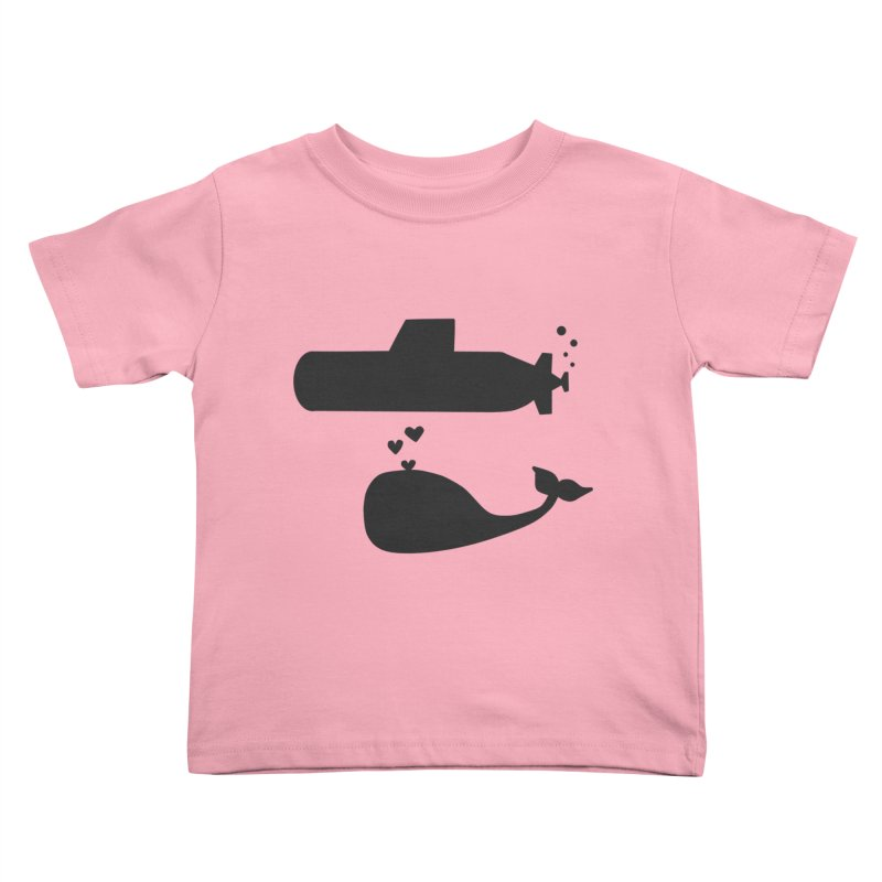 oh whale, sea you later Kids Toddler T-Shirt by Lawrence's Shop