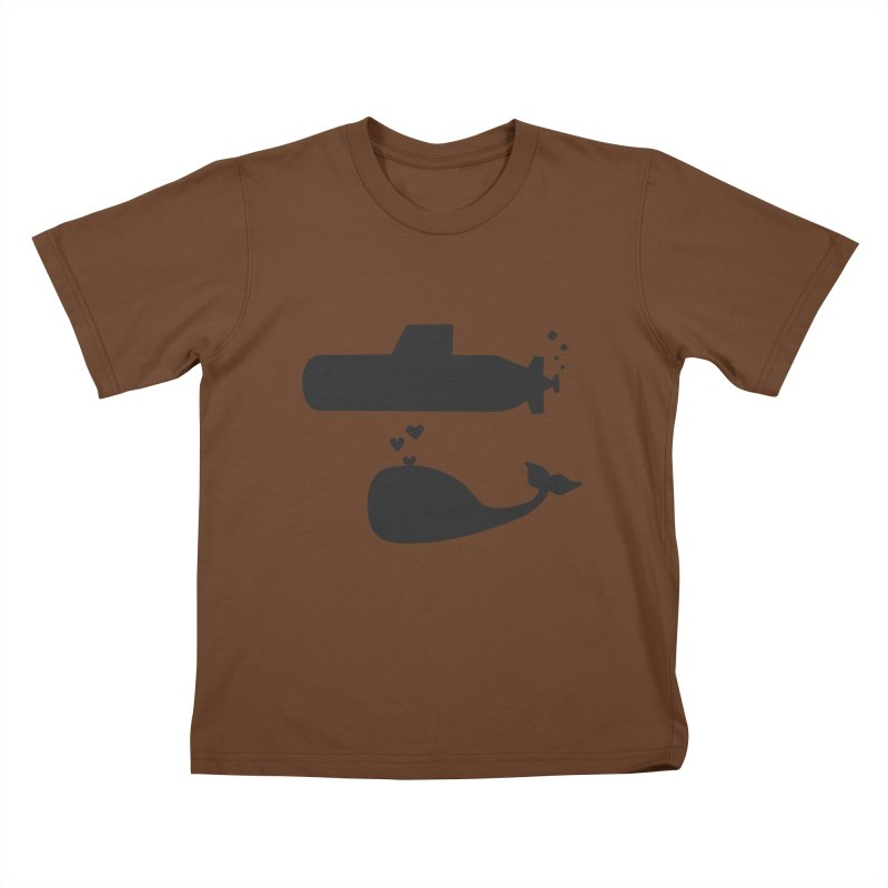 oh whale, sea you later Kids T-shirt by Lawrence's Shop