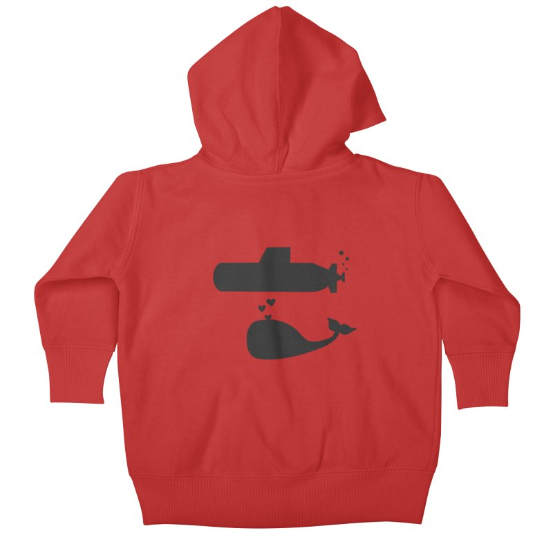 oh whale, sea you later Kids Baby Zip-Up Hoody by Lawrence's Shop