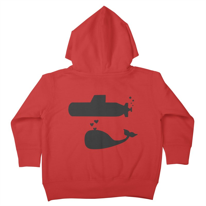 oh whale, sea you later Kids Toddler Zip-Up Hoody by Lawrence's Shop