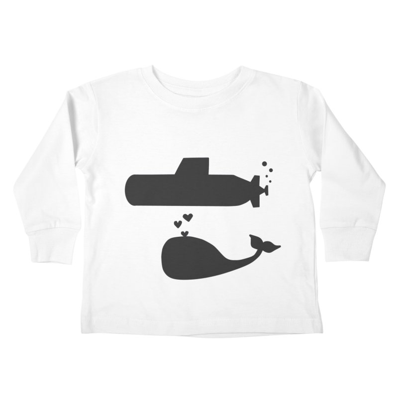 oh whale, sea you later Kids Toddler Longsleeve T-Shirt by Lawrence's Shop
