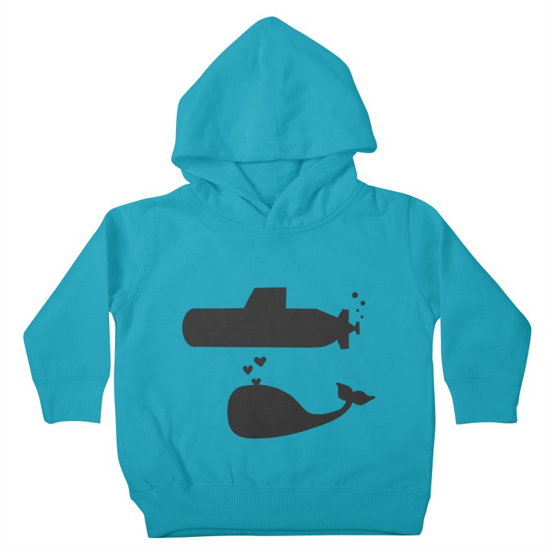 oh whale, sea you later Kids Toddler Pullover Hoody by Lawrence's Shop