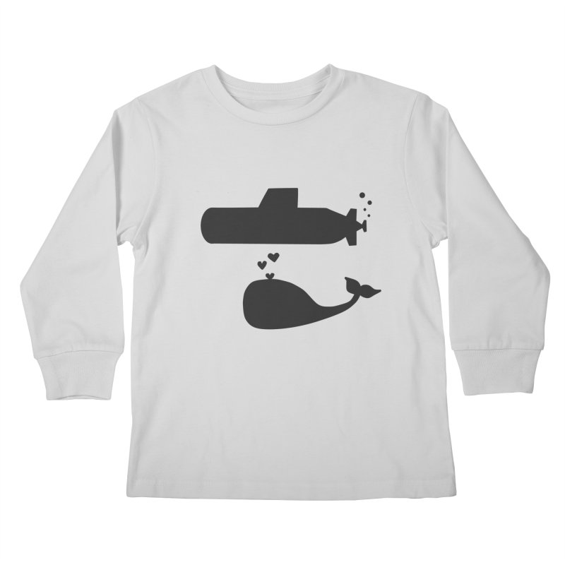 oh whale, sea you later Kids Longsleeve T-Shirt by Lawrence's Shop