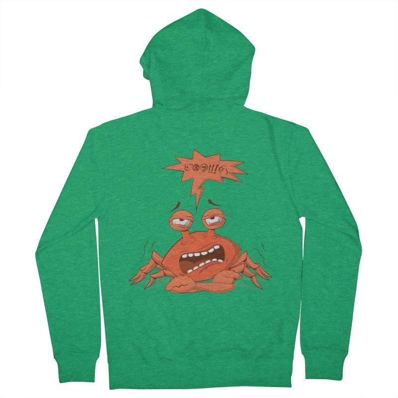 Crabby Women's Zip-Up Hoody by layla's Artist Shop