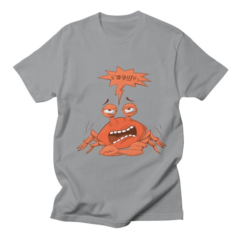 Crabby Men's T-shirt by layla's Artist Shop