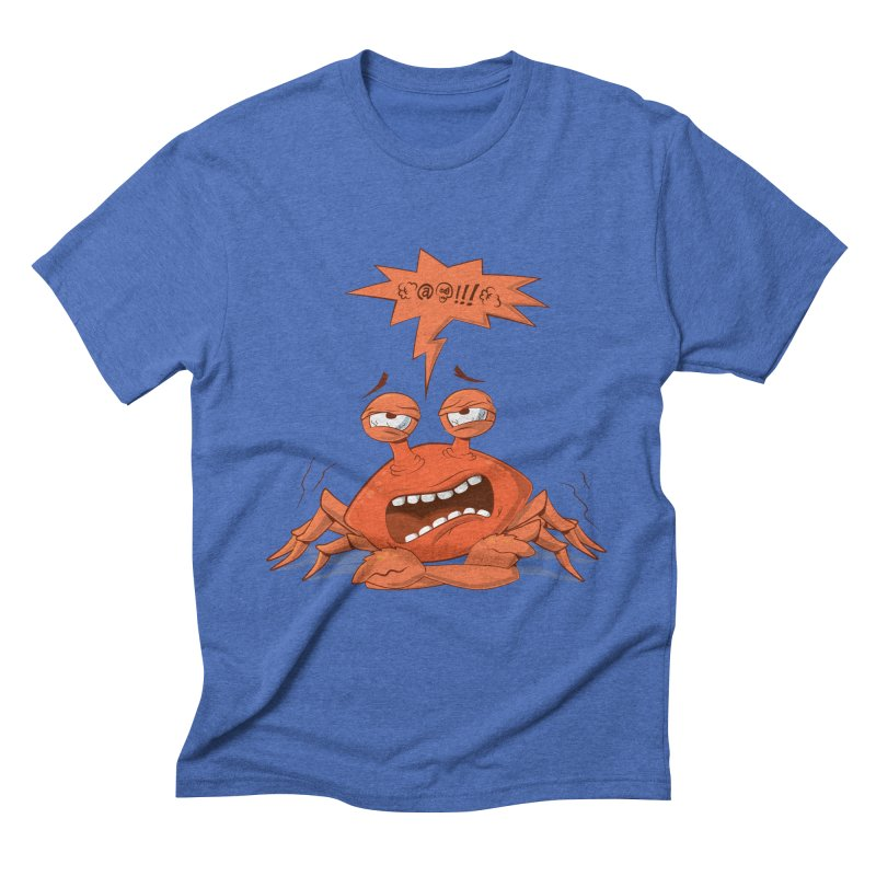 Crabby Men's Triblend T-Shirt by layla's Artist Shop