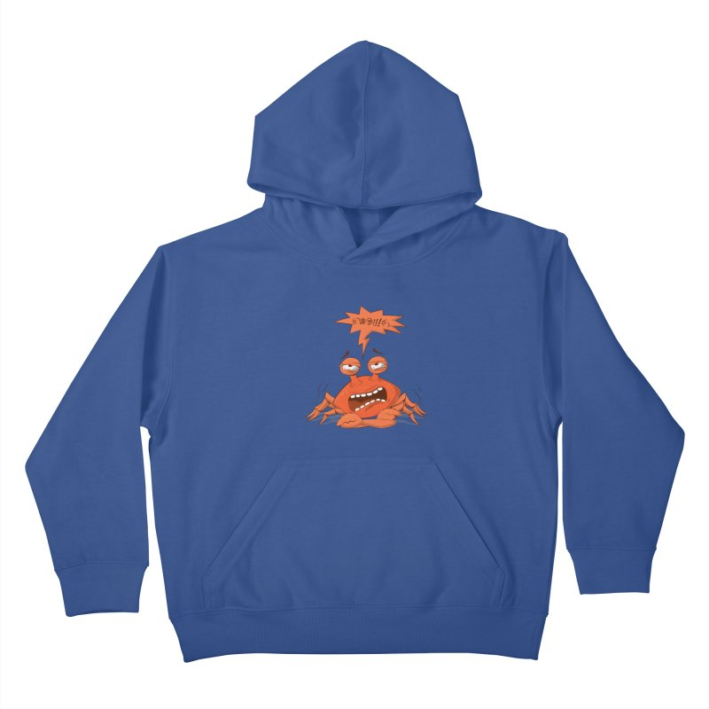 Crabby Kids Pullover Hoody by layla's Artist Shop