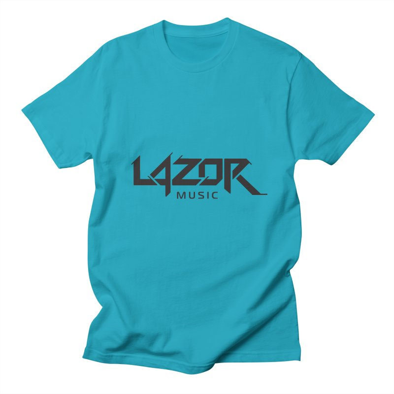 Lazor Music (Black Logo) Women's Unisex T-Shirt by Lazor Music Merchandise