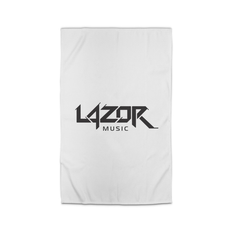 Lazor Music (Black Logo) Home Rug by Lazor Music Merchandise