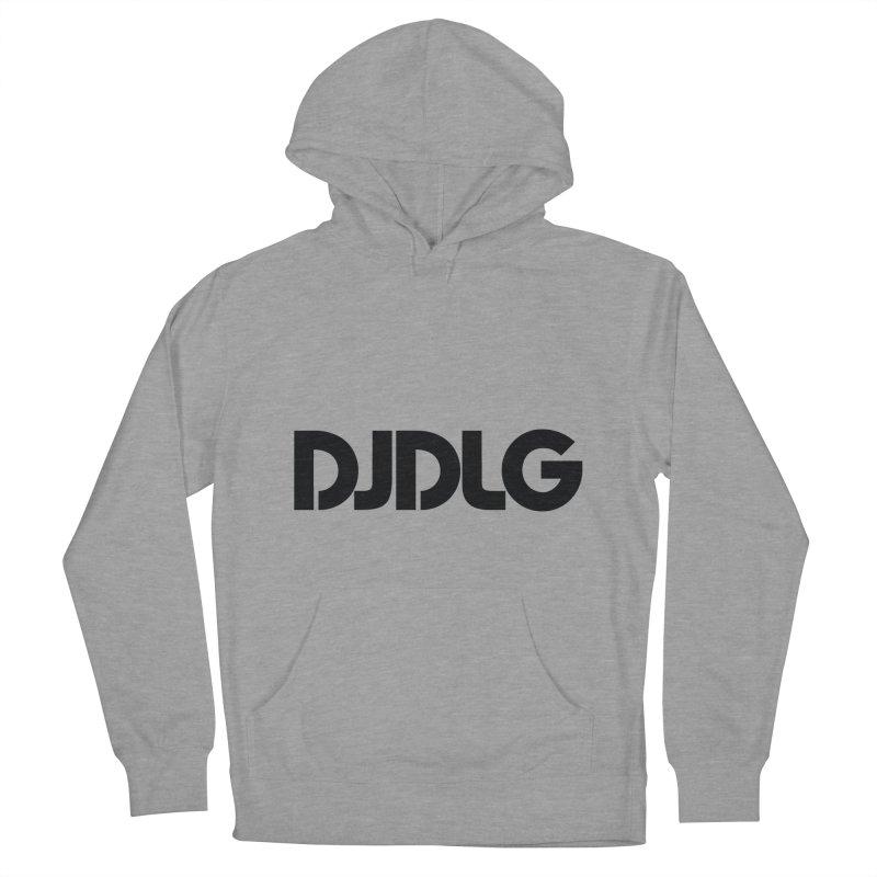 DJ DLG (Black Logo) Men's Pullover Hoody by Lazor Music Merchandise