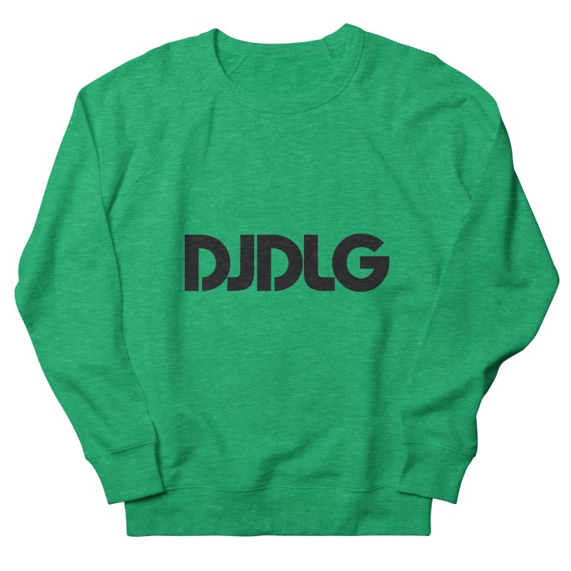 DJ DLG (Black Logo) Women's Sweatshirt by Lazor Music Merchandise
