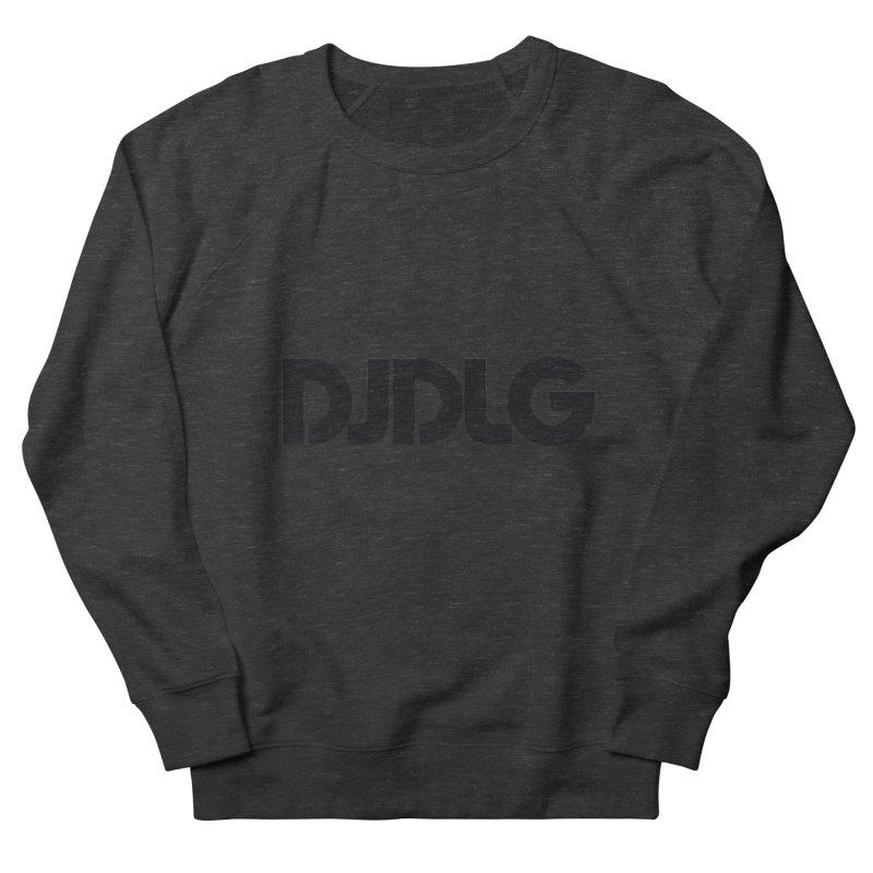 DJ DLG (Black Logo) Men's Sweatshirt by Lazor Music Merchandise
