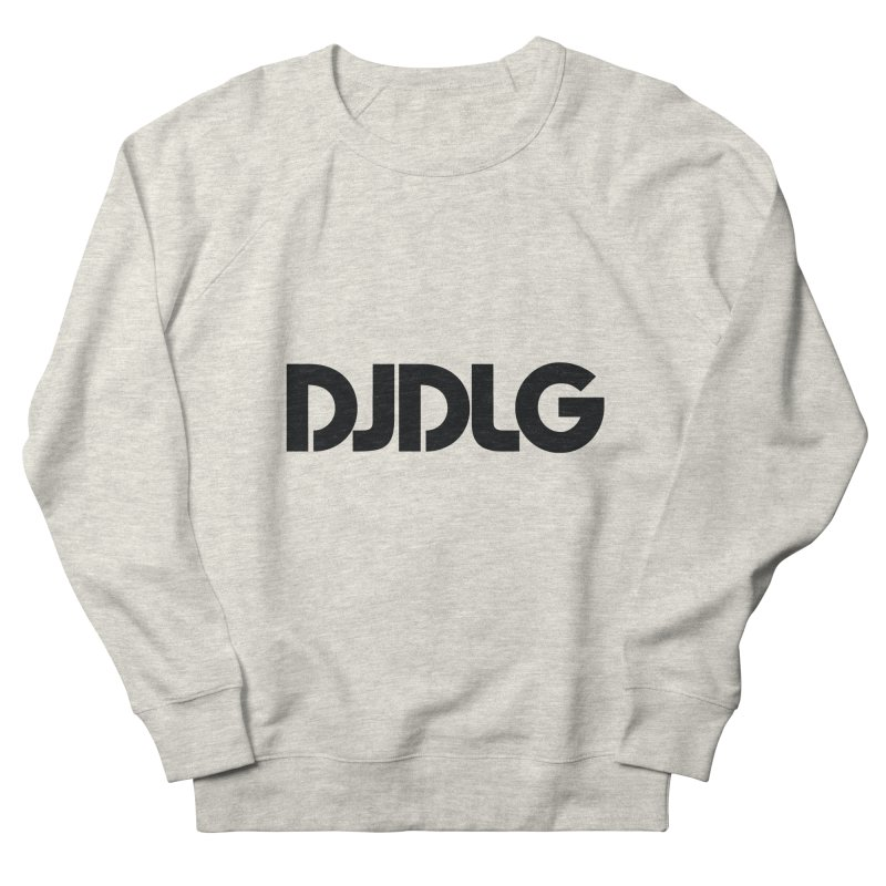 DJ DLG (Black Logo) Men's Sweatshirt by Lazor Music Merchandise
