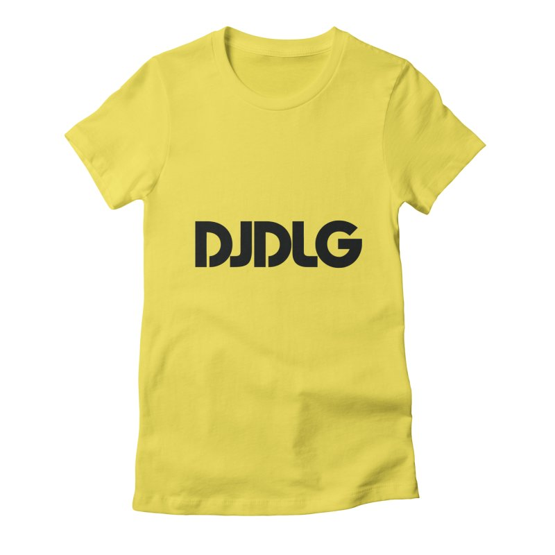 DJ DLG (Black Logo)   by Lazor Music Merchandise