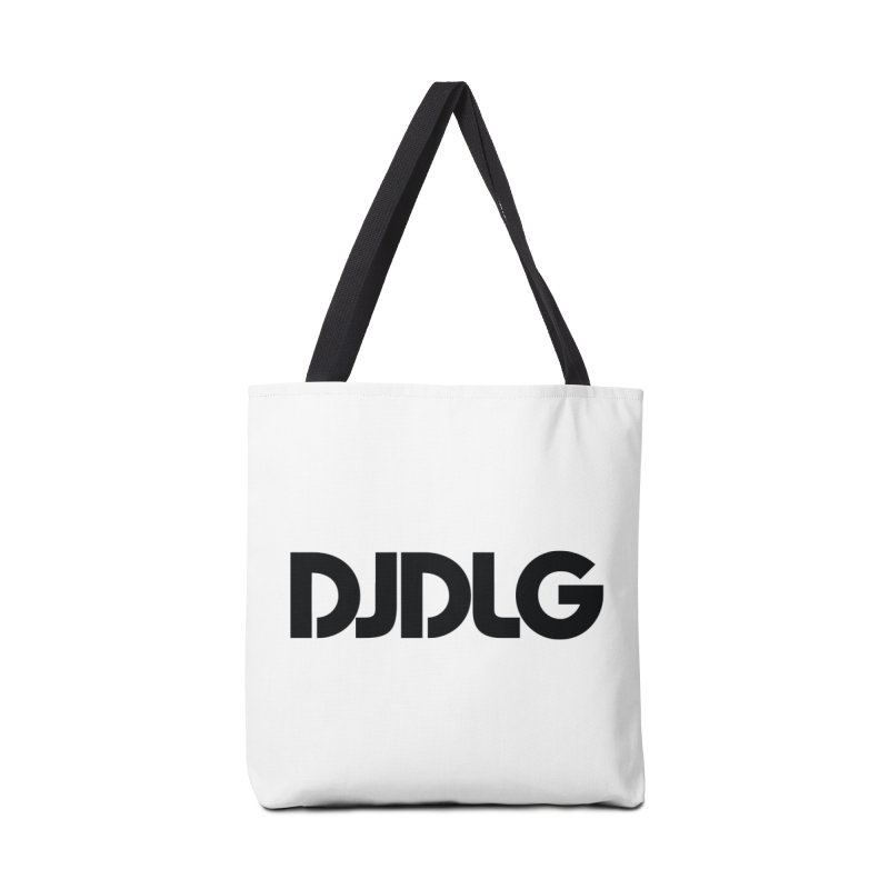 DJ DLG (Black Logo) Accessories Bag by Lazor Music Merchandise