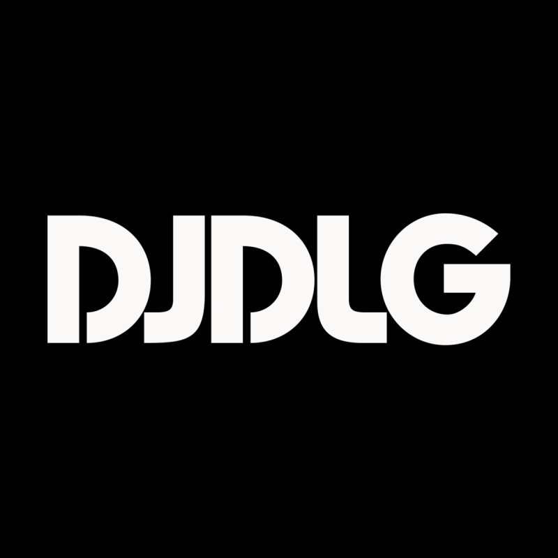 DJ DLG (White Logo) None  by Lazor Music Merchandise