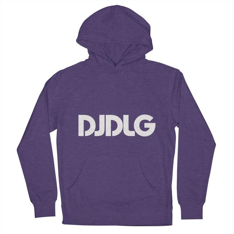 DJ DLG (White Logo) Women's Pullover Hoody by Lazor Music Merchandise