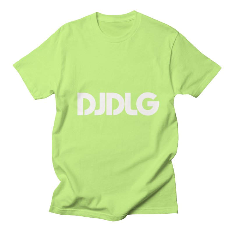 DJ DLG (White Logo) Women's Unisex T-Shirt by Lazor Music Merchandise