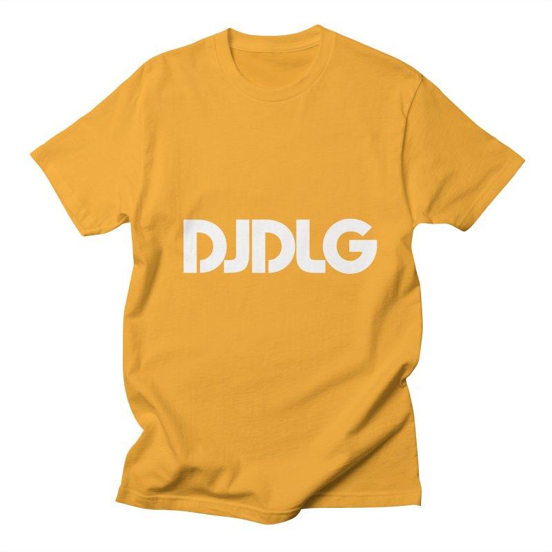 DJ DLG (White Logo) Women's Unisex T-Shirt by Lazor Music Merchandise