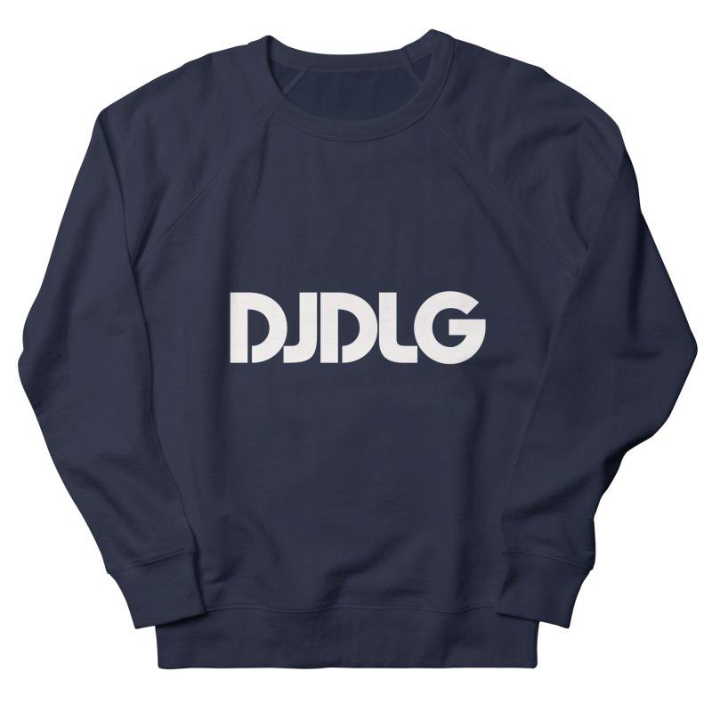 DJ DLG (White Logo) Men's Sweatshirt by Lazor Music Merchandise